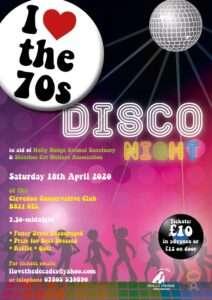 I Love The 70's Disco - 2020 @ CANCELLED | England | United Kingdom