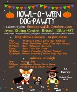 Howl-O-Ween Dog-Pawty 2021 @ Avon Riding Centre | England | United Kingdom